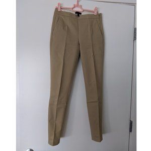 J. Crew beige Martie cotton skinny ankle pants